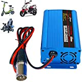 24V 5Amp Smart Automatic Battery Charger, Portable Battery Maintainer With XLR...