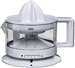 Braun Cj3000 Tribute Collection Citrus Juicer, White, Plastic Material
