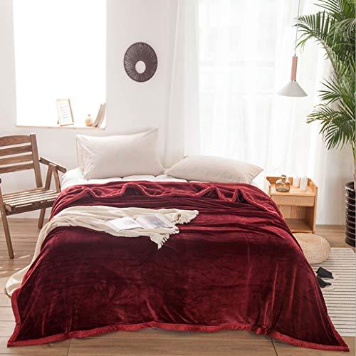 SBRM deken Thicken Keep warm Lengthen pluche deken superfine fiber beddengoed Multiple