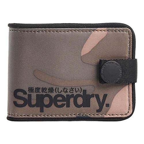 Superdry Tarp One Popper Geldbörse - Army Camo