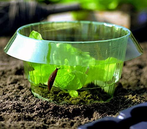 12 STK Schneckenkragen Schneckenschutz, für Ihre Salatpflanzen und Kohl Schützt Pflanzen vor Tierfraß