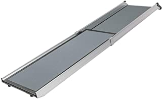 PetSafe Happy Ride Telescoping Dog Ramp - Portable Lightweight Pet Ramp - Ideal for Cars, Trucks and 4X4s, Durable Alumini...