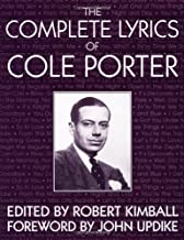 The Complete Lyrics Of Cole Porter Paperback – August 21, 1992