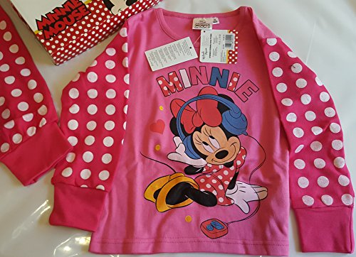 for-collectors-only Minnie Mouse Pyjama Enfant Fille 128cm 8A Minnie with Headphones Disney