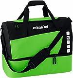 Erima Sporttasche mit Bodenfach Club 5 Line, Green/Schwarz, Small