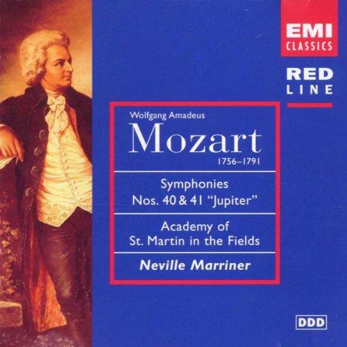 Red Line - Mozart (Sinfonien 40 + 41)
