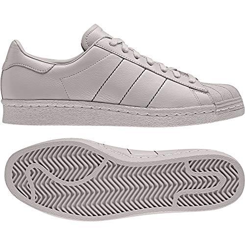 adidas Superstar 80s BB7774 Schuhe Grau - Grösse: EU 41 1/3 UK 7.5
