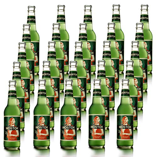 Wostok Estragon Ingwer 25 Flaschen je 0,33l