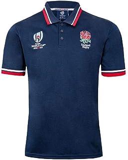 ラグビージャージポロシャツ半袖ワールドカップラグビ2019ラグビーイングランド代表レプリカジャージホーム/アウェイシャツメンズ ラグビーユニフォーム (Size : XL)