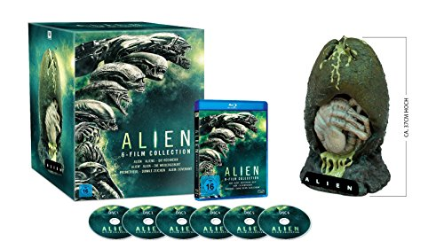 Alien 1-6 Collection - Special-Edition mit Alien-Ei-Figur (exklusiv bei amazon.de) [Blu-ray]
