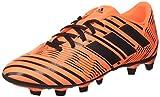 adidas Nemeziz 74 FxG, Scarpe per Allenamento Calcio Uomo, Multicolore (Solar Orange/Core Black), 43 1/3...