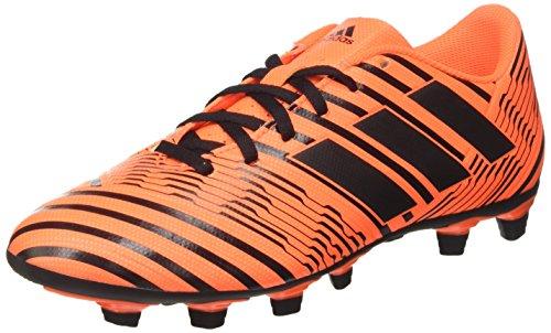 adidas Nemeziz 74 FxG, Scarpe per Allenamento Calcio Uomo, Multicolore (Solar Orange/Core Black), 43 1/3 EU