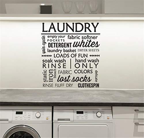 wandaufkleber 3d schmetterling Waschmittel Weiß letzte Socken für den Waschraum