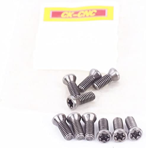 lowest ZIMING-1 M3.5 × 10 Screw - type mechanical clamping screws new arrival 10pcs + 1 wrench outlet sale T15 online