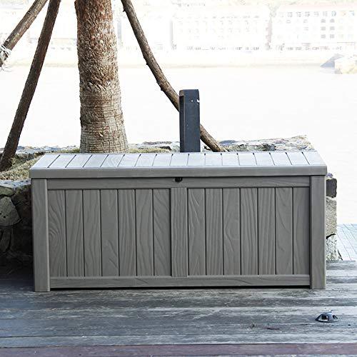 Coperchio Box Deck Oxford Impermeabile Protezione UV Box Deck Box Case Patio Coperchio Box Deck Coperchio Box Pad Esterno per Protezione Deck Box