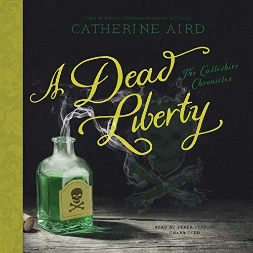 A Dead Liberty audiobook cover art