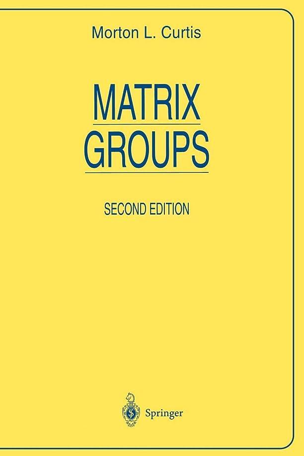 大工絶縁するアナリストMatrix Groups (Universitext)