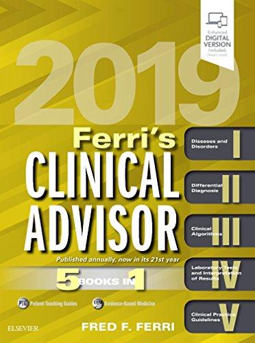 Ferri's Clinical Advisor 2019: 5 Books in 1, 1e [Lingua inglese]