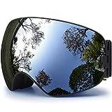 HONGDAK Ski Goggles, Snowboard Goggles UV Protection, Snow...