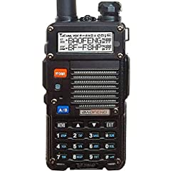 Upgrades from our Previous Generation UV-5R: Twice the Output Power (8 watts up from 4 watts output), New Hardened Durable Radio Shell, 30% Larger Battery, V-85 High Gain Antenna (Twice the Antenna Performance), USA Support + In-depth User Guide Incl...