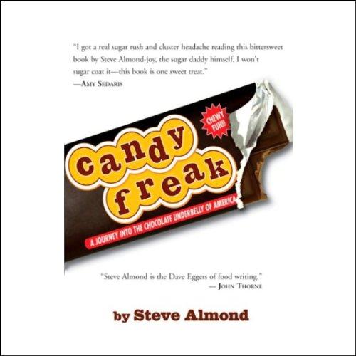 Candyfreak audiobook cover art