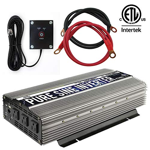 GoWISE Power 2000W Pure Sine Wave Power Inverter 12V