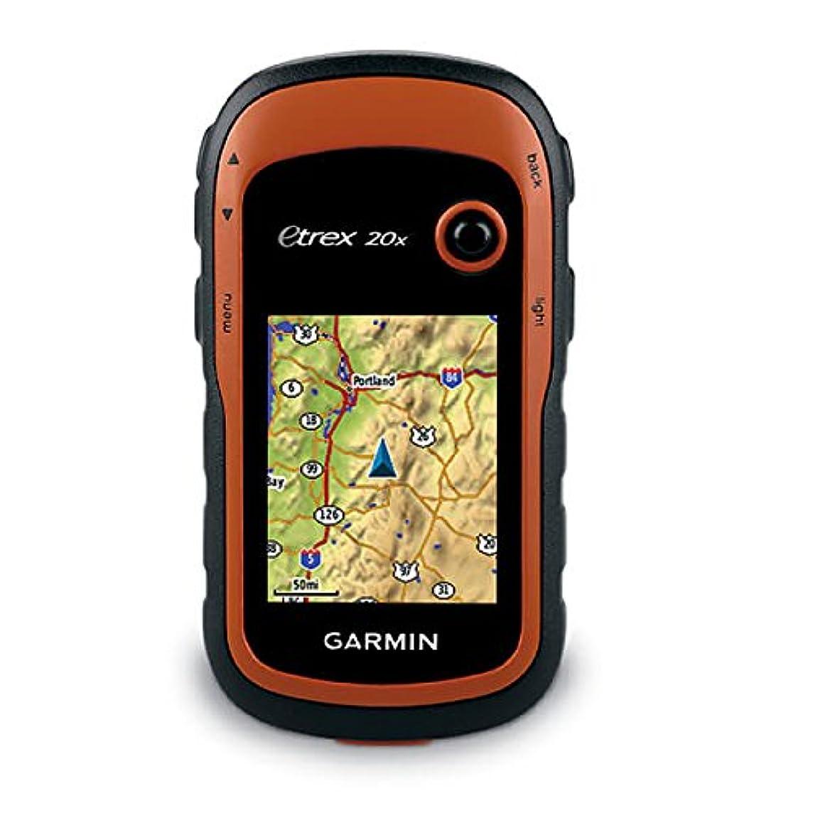 Garmin eTrex 20x, Handheld GPS Navigator, Enhanced Memory and Resolution, 2.2-inch Color Display, Water Resistant