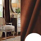 GHJYU Cortina opaca de terciopelo de alto sombreado para dormitorio, sala de estar, aislante, cortina de ventanas de estilo moderno, decoración del hogar, hecha a medida, 2018-42, 400 x 270 cm