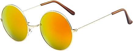 e89887e0e48 Women Men Vintage Retro Glasses TANGSen Unisex Driving Round Frame Casual Sunglasses  Fashion Outdoor Eyewear