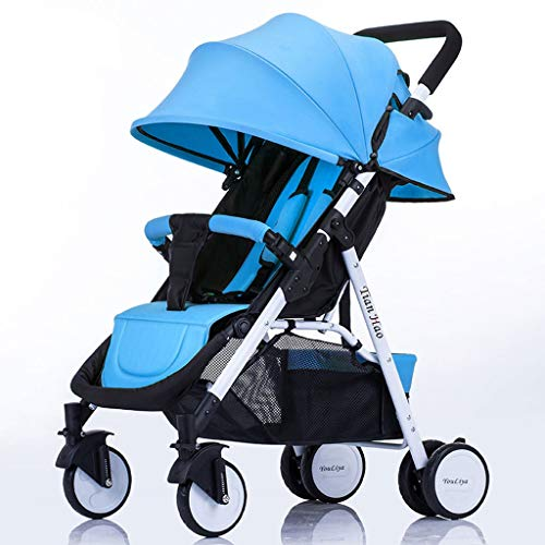 Affordable Yxyxml Baby Carriage, Baby Stroller Can Sit Reclining Foldable Car Light Baby Stroller Wh...