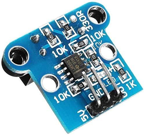 MUKUAI56 3 st H206 fotoelektrisk räknare räknande sensor modul motor hastighet bräda robot hastighetskod 6 mm spår bredd modul tillbehör gör-det-själv