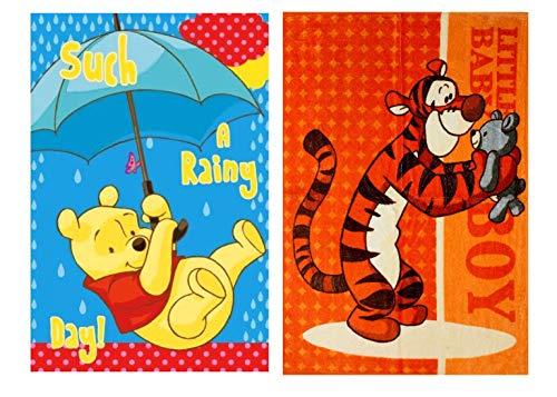 Winnie The Pooh - Juego de 2 toallas de mano (40 x 60 cm), diseño de Winnie the Pooh