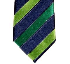 Retreez Corbata de microfibra fina a rayas tricolor para hombres ...