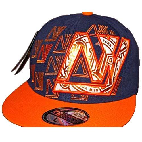 KBETHOS - Gorra de béisbol - para Hombre Navy/Orange 7 1/8 (56.8...
