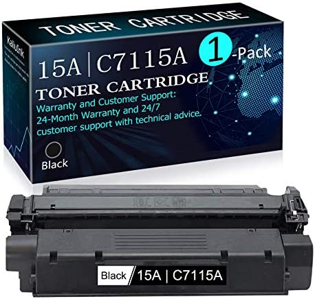High Yield 15A C7115A 1 Pack Black Compatible 15A C7115A Toner Cartridge Replacement for HP product image