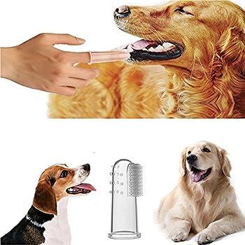ReFaXi Brosse à Dents pour Dents Animal Familier Brosse à Dents Hygiène Dentaire pour Chiens