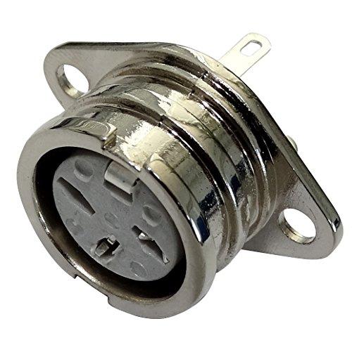 Aerzetix stekker DIN 3-polig vrouwelijk 180° C19557