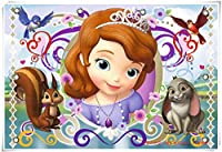 Mopoq 木製パズルの小さな王女ソフィア千枚(組み立てサイズ75×50 cm)の子どもの早期教育知育玩具ギフトカスタムDIY (Color : H)