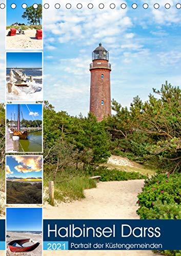 Halbinsel Darss, Portrait der Küstengemeinden (Tischkalender 2021 DIN A5 hoch)