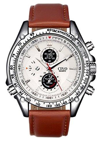 CIVO CIVO-brown watch 2