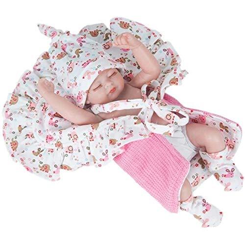 HengYue Simulación Reborn Doll Toy Silicona Suave Bebé Recién Nacido Regalo de Cumpleaños Muñeca para Parejas de Niños