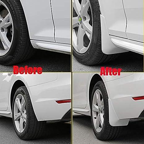 Color : 16 20 A4 B9 red JINGXIANG Mud Flap Mud flaps fit for Audi A4 b6 b7 b8 b9 Mudguards Car Mud flap Splash Guards audi A4 Fenders auto accessories 4PCS Mudguards