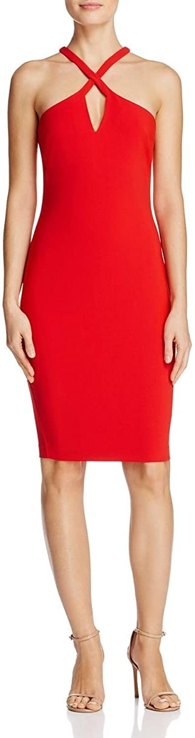 Likely Womens Charles Solid Sleeveless Casual Dress