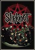 tianxianbaobao Slipknot Heavy Metal Band Poster Retro