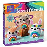 Craft-tastic – DIY Enchanted Forest Friends – Craft Kit Makes 3 Pompom Stuffed Animals – Fairy Bear, Lucky Bunny & Magic Deer