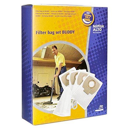 NILFISK ADVANCE - sachet de sacs polyester (x4) +filtre ae pour aspirateur NILFISK ADVANCE