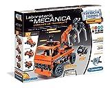 Clementoni Juego Laboratorio de Mecánica Camiones de Transpo, Multicolor (552504)