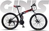 Ligero, Adulto plegable suave cola de bicicletas de montaña, estudiar adolescente de la ciudad...