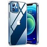 TORRAS Diamond Series für iPhone 12 Mini Hülle (Vergilbungsfrei) Durchsichtig Case Starke...