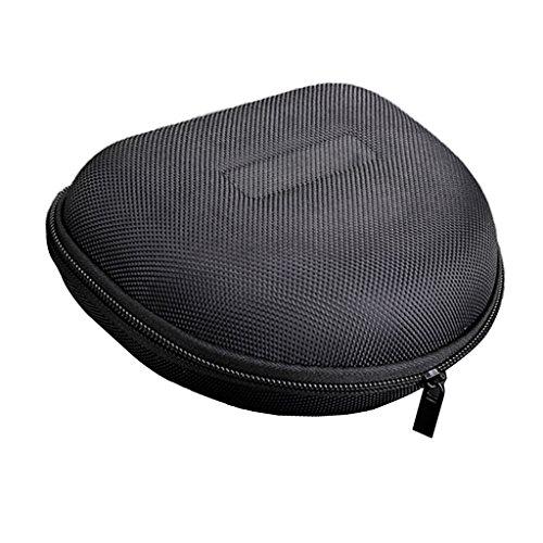 IPOTCH Una Pequeña Bolsa Rígida Protectora Multifuncional Y Portátil para Tarjeta de Memoria, Auriculares con Disco Flash USB Negro